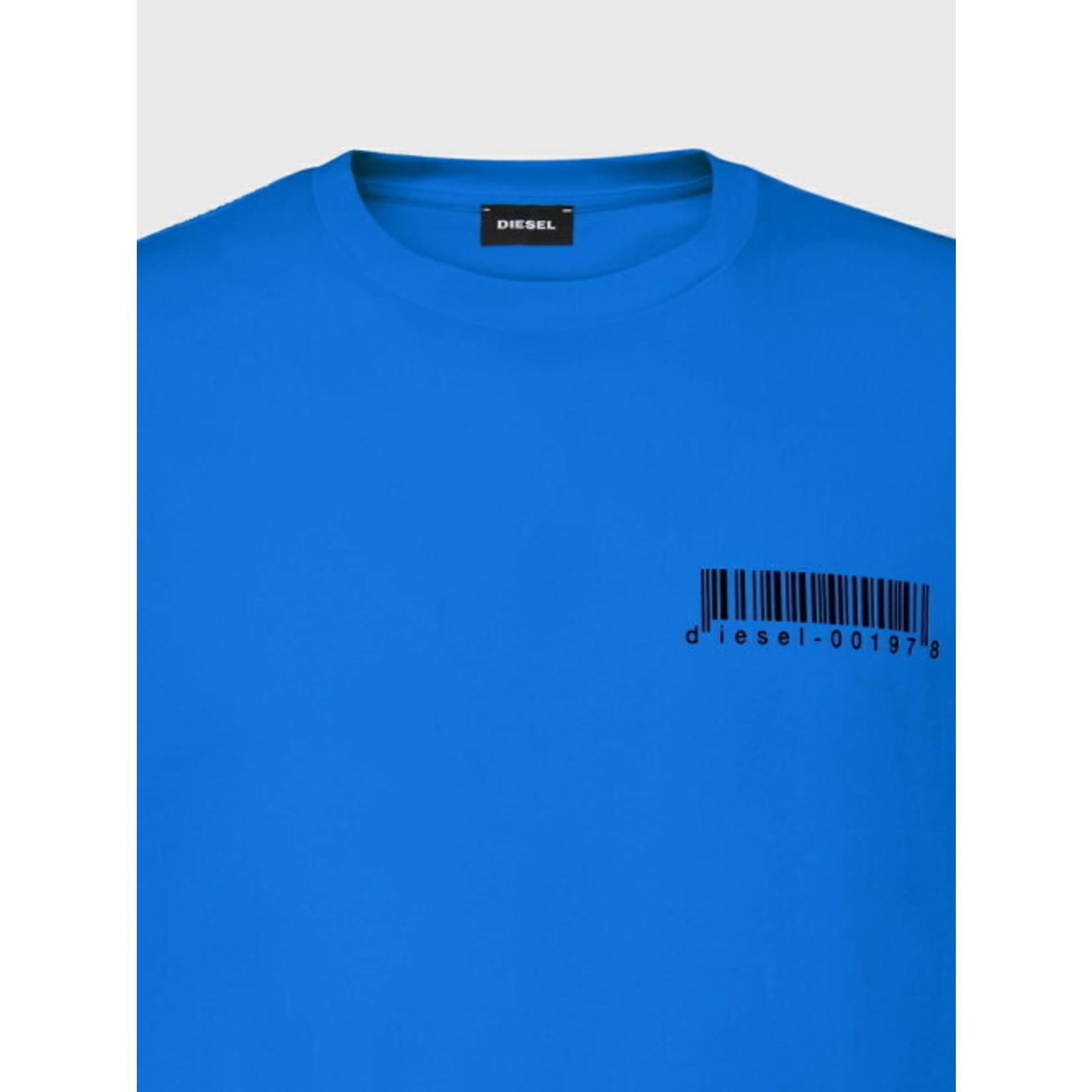 DIESEL DIESEL T-SHIRT T-DIEGOS X67 - BLUE