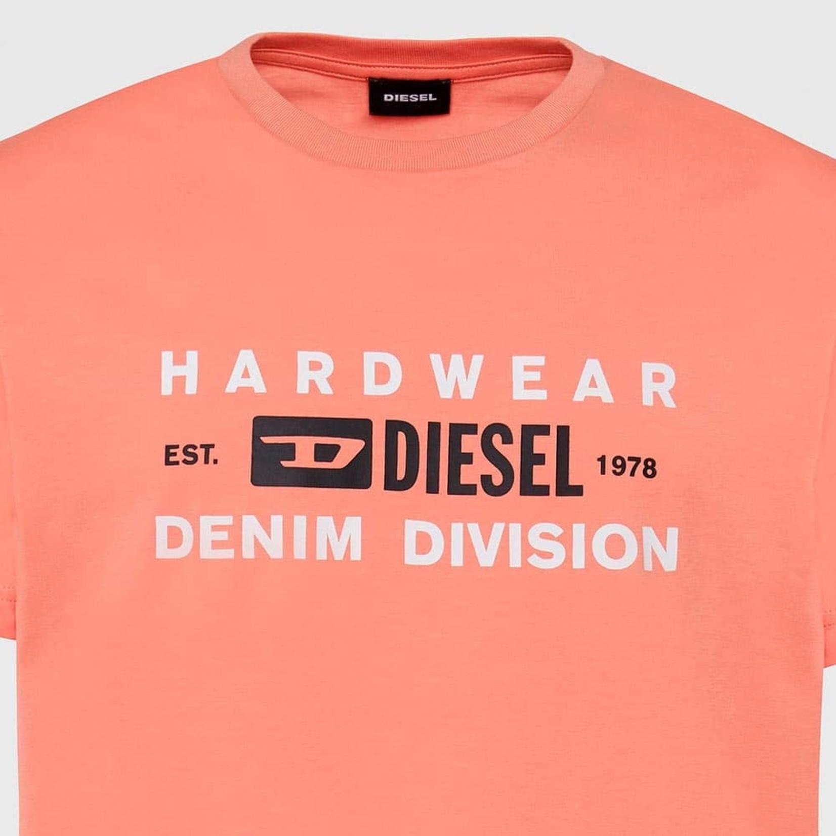 DIESEL DIESEL T-SHIRT DIEGOS K32 - ORANGE