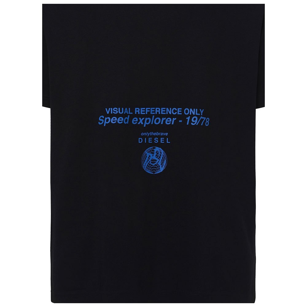 DIESEL DIESEL T-SHIRT T-TUBOLAR-X21 B LACK