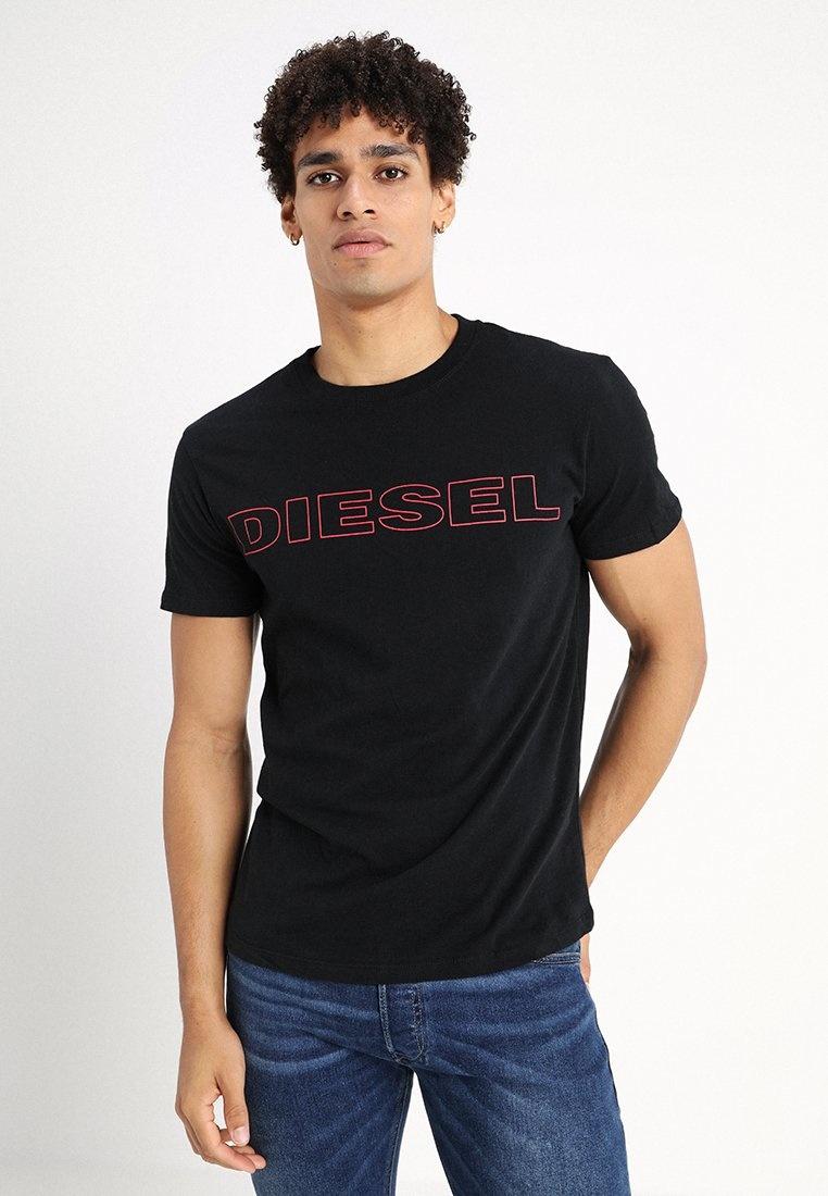 DIESEL DIESEL T-SHIRT UMLT JAKE - BLACK