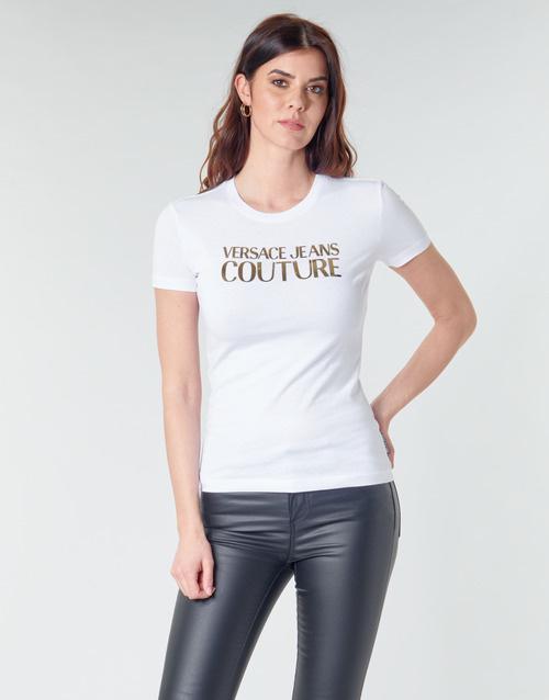 VERSACE JEANS COUTURE VERSACE JEANS COUTURE T-SHIRT  B2HVA7E1 - WHITE