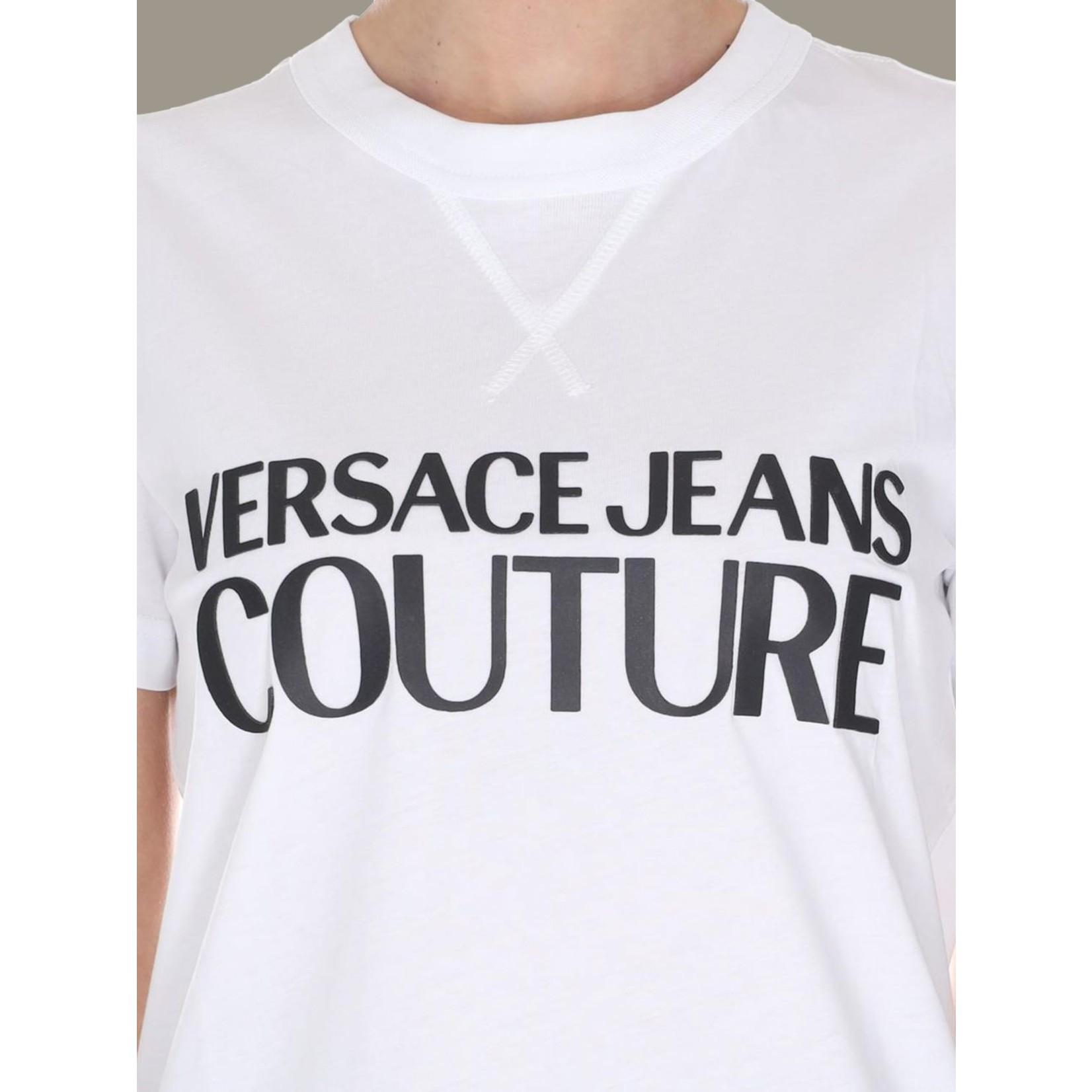 VERSACE JEANS COUTURE VERSACE JEANS COUTURE T-SHIRT  B2HVA7X0 - WHITE