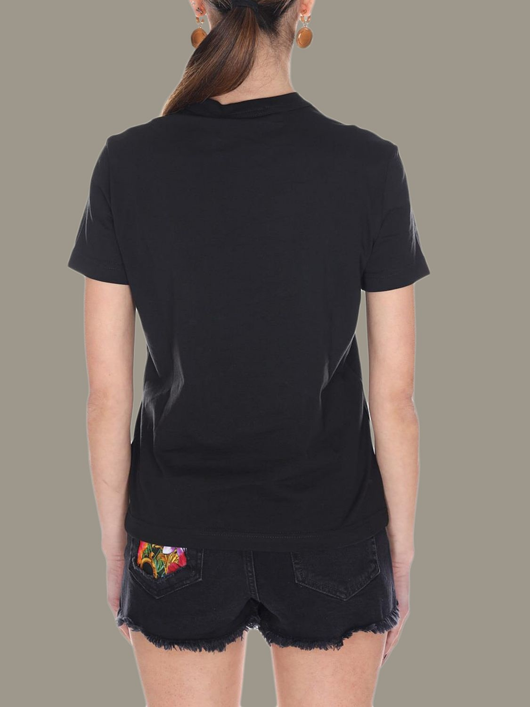 VERSACE JEANS COUTURE VERSACE JEANS COUTURE T-SHIRT  B2HVA7X0 - BLACK