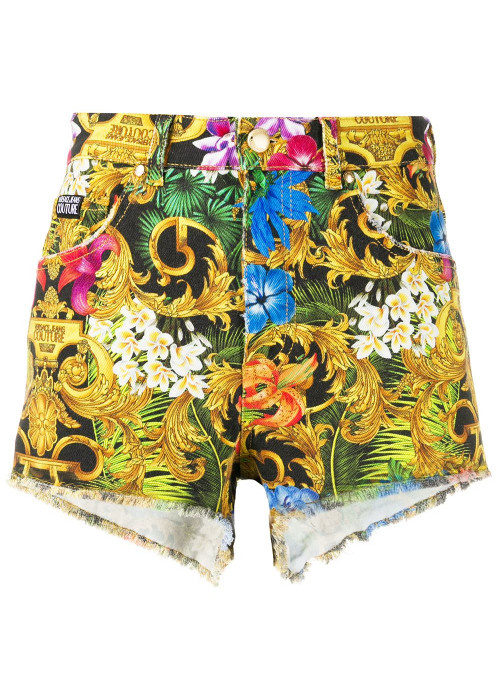 VERSACE JEANS COUTURE VERSACE JEANS COUTURE SHORT  A3HVA180 - JUNGLE