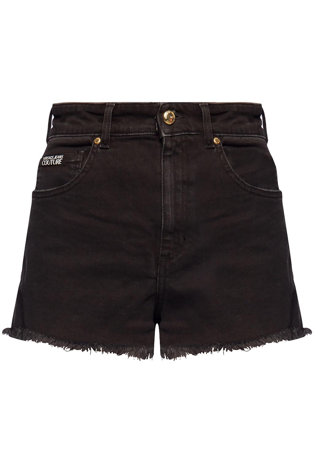 VERSACE JEANS COUTURE VERSACE JEANS COUTURE SHORT PANTS A3HVA18J - BLACK