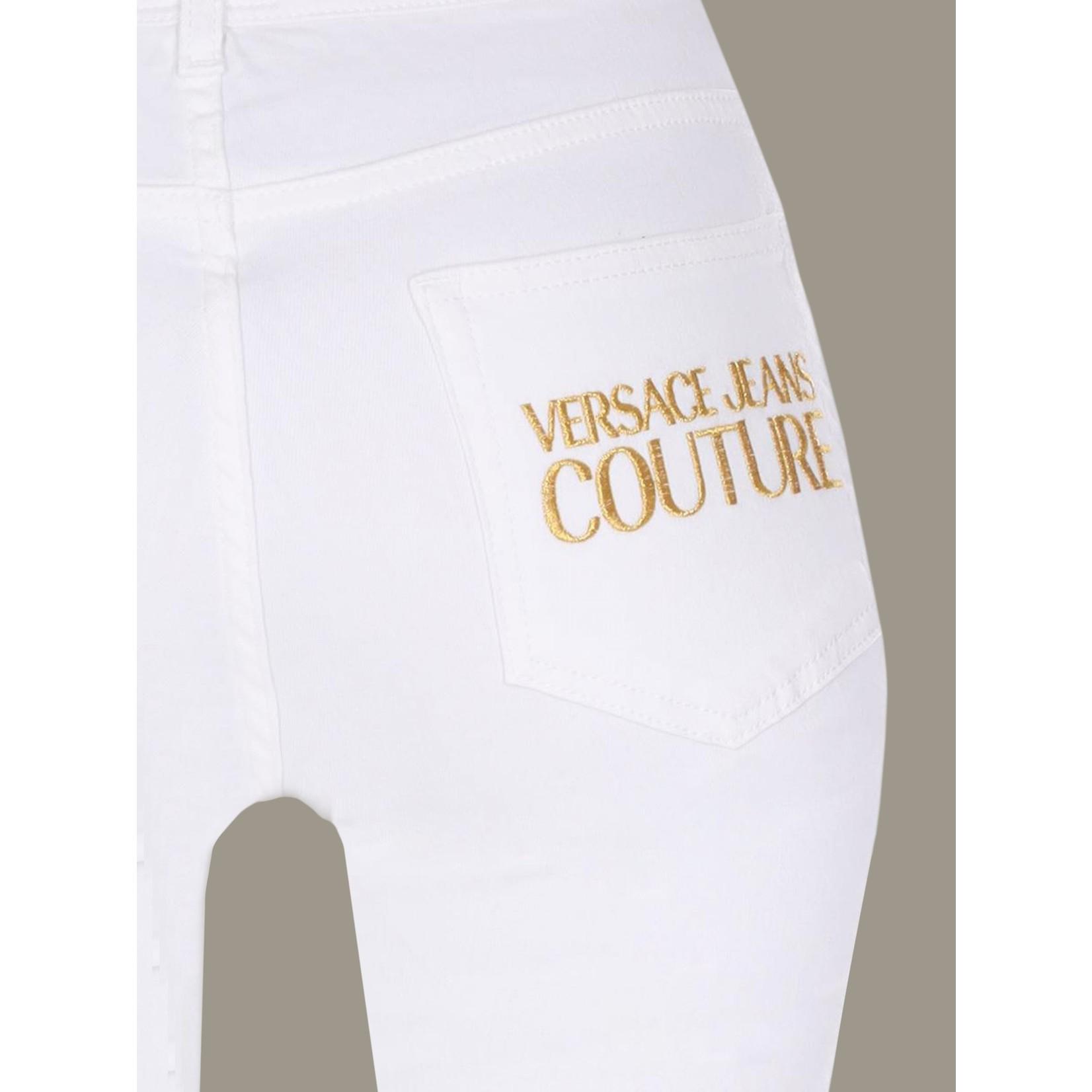 VERSACE JEANS COUTURE VERSACE JEANS COUTURE PANTS A1HVA0K46 - WHITE