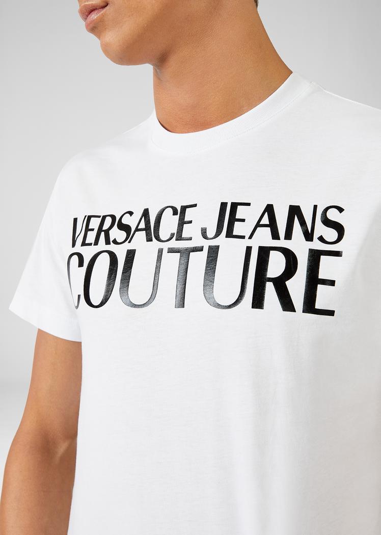 VERSACE JEANS COUTURE VERSACE JEANS COUTURE T-SHIRT  B3GVA7X13 - WHITE