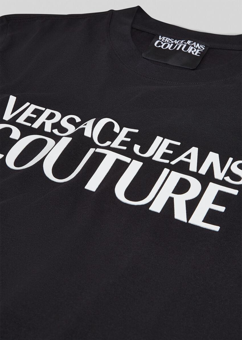 VERSACE JEANS COUTURE VERSACE JEANS COUTURE T-SHIRT  B3GVA7X13 - BLACK