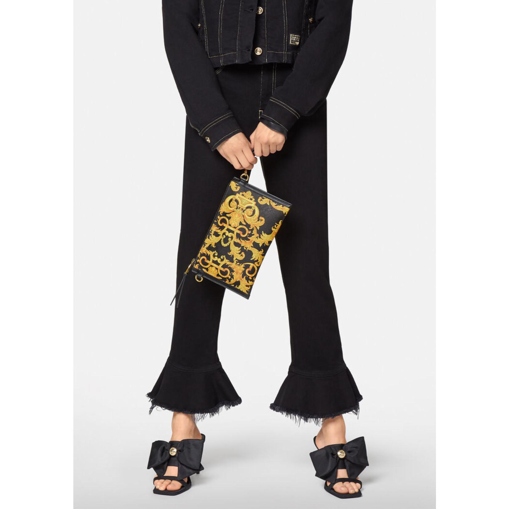 VERSACE JEANS COUTURE VERSACE JEANS COUTURE WOMEN'S SHOULDER BAG BARROQUE - E1VWABMX GOLD