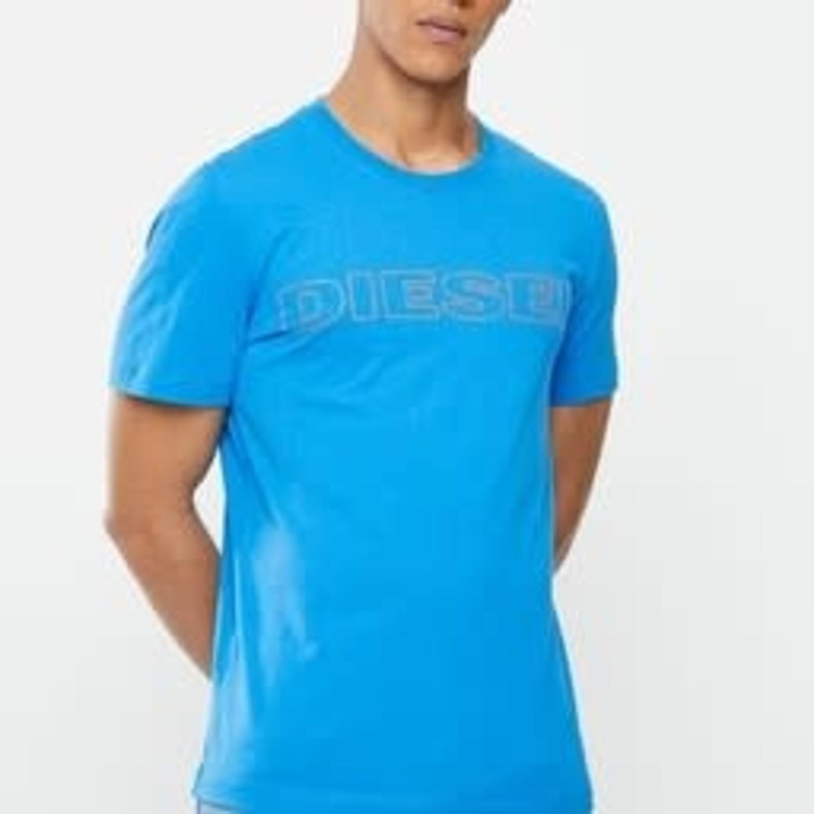 DIESEL DIESEL T-SHIRT UMLT JAKE - BLUE