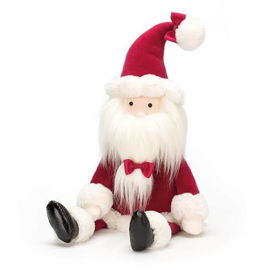 "Jelly Cat Berry Santa Medium 13"""
