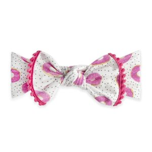 Baby Bling Trimmed Printed Knot (Sprinklicious)