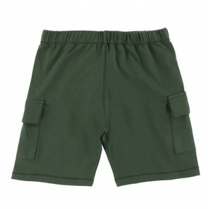 Kickee Pants Solid Performance Jersey Cargo Short (Topiary)
