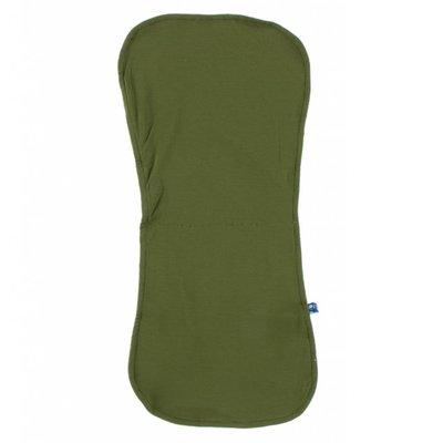 Kickee Pants Burp Cloth Set (Lime Blossom Lemon Tree and Pesto - One Size)