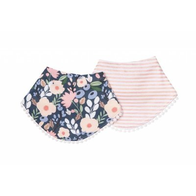 Copper Pearl fashion baby bandana bibs - audrey
