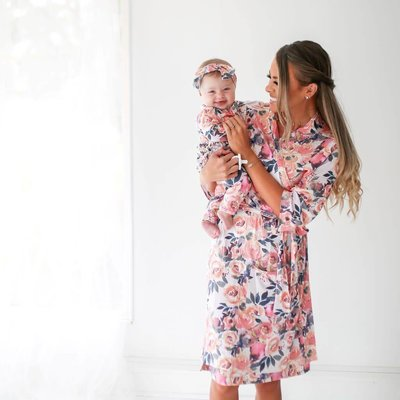 Posh Peanut DUSK ROSE ROBE