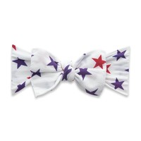 Baby Bling PRINTED KNOT: USA stars
