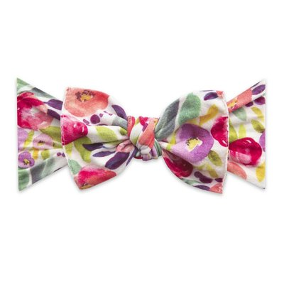 Baby Bling PRINTED KNOT: fresh watercolor