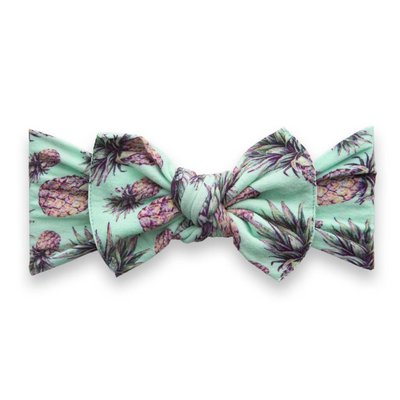 Baby Bling PRINTED KNOT: pineapple paradise