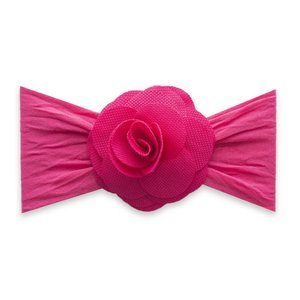 Baby Bling HONEYCOMB FLOWER: hot pink