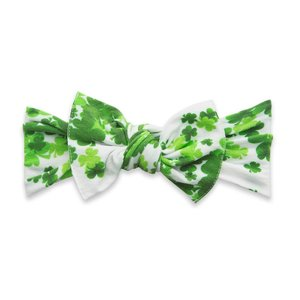 Baby Bling PRINTED KNOT: lucky clover