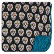 Kickee Pants Print Toddler Blanket (Dia de los Muertos - One Size)