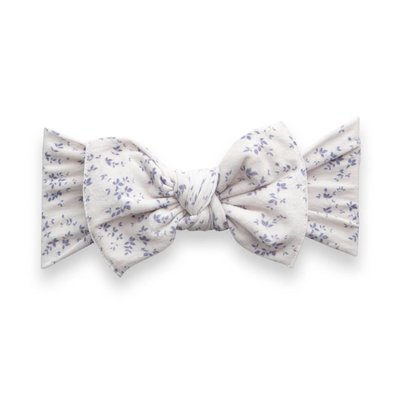 Baby Bling PRINTED KNOT: lilac vine
