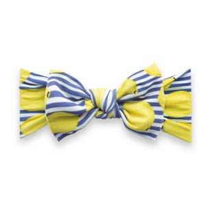 Baby Bling Printed Knot: lemonade