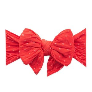 Baby Bling DANG ENORMOUS BOW: cherry dot