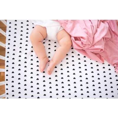 Copper Pearl knit swaddle blanket - darling set of 2