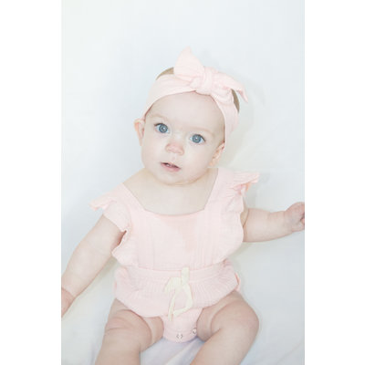 Lincoln&Lexi The Kelly Romper & Headband Set