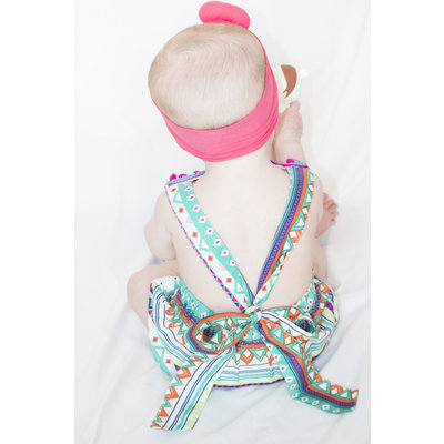 Lincoln&Lexi The Llama Party Romper