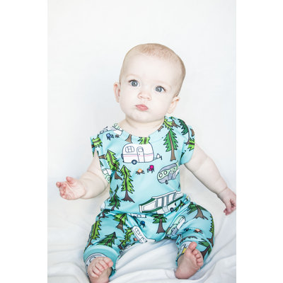 Lincoln&Lexi The Alex Camper Romper
