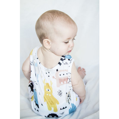 Lincoln&Lexi The Monster Mash Romper