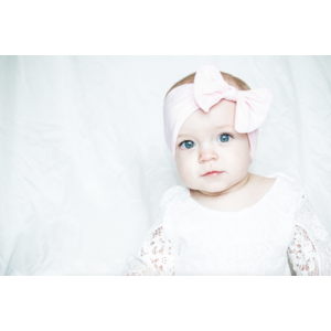 Lincoln&Lexi Solid Bow Knot Headband