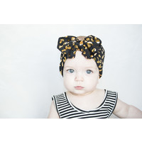 Lincoln&Lexi Leopard Big Bow Headband