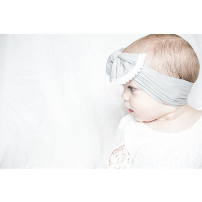 Lincoln&Lexi Trimmed Knot Headband