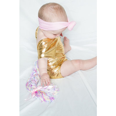Lincoln&Lexi Unicorn Leotard - Gold