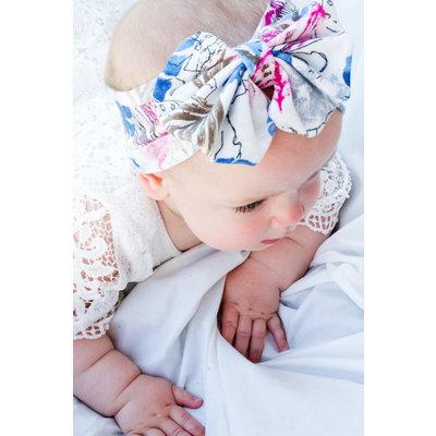 The Hattie Floral Knit Headband