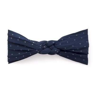 Baby Bling Sailor Knot (Navy Dot)