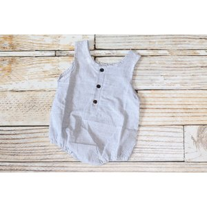 Lincoln&Lexi The Alex Pinstripe Romper