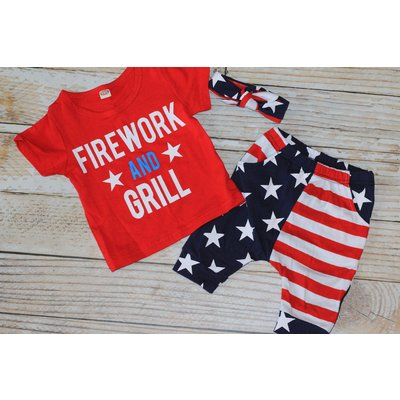 Fireworks & Grill Piece Set