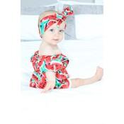 Lincoln&Lexi The Sweet Watermelon Romper & Headband Set