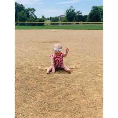 The Bailey Baseball Romper