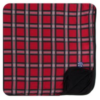 Kickee Pants Print Toddler Blanket (Christmas Plaid 2019 - One Size)