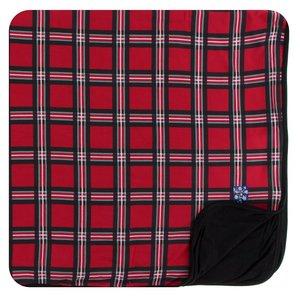 Kickee Pants Print Toddler Blanket (Christmas Plaid 2019 - One Size)
