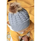 Lincoln&Lexi Crochet Puff Hat