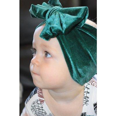 Lincoln&Lexi The Velvet Big Bow Wide Headband