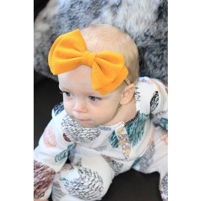 The Kelly Waffle Nylon Headband