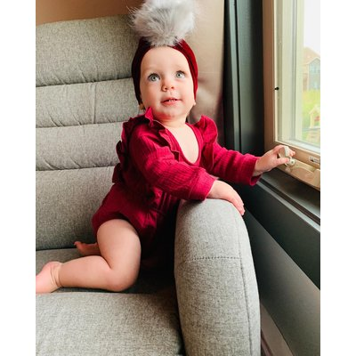 Lincoln&Lexi The Ruby Romper